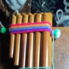 Instrumentos musicales: INSTRUMENTO DE VIENTO ANDINO. Lote 183500091