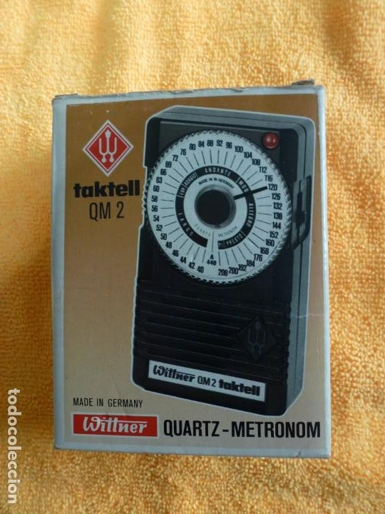 METRÓNOMO WITTNER MODELO TAKTELL. QM.2 (Música - Instrumentos Musicales - Accesorios)