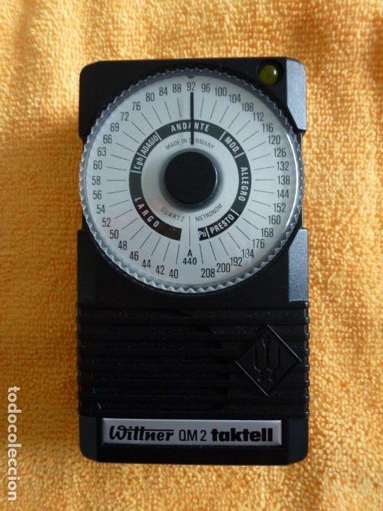Instrumentos musicales: METRÓNOMO WITTNER MODELO TAKTELL. QM.2 - Foto 2 - 183604680