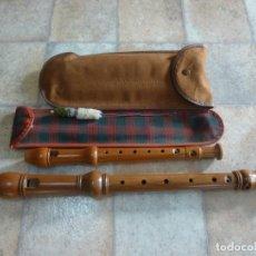 Instrumentos musicales: FLAUTAS ALTO Y SOPRANO KÜNG Y HUBER. Lote 222567665