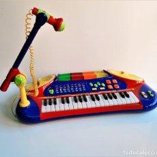 Instrumentos musicales: PIANO INFANTIL GRANDE CON SONIDOS, MELODIAS Y LUCES VARIAS (FUNCIONA PERFECTAMENTE) - 64 X 30.CM. Lote 183814575