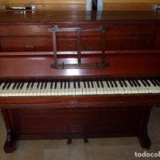 Instrumentos musicales: PIANO CHAPPELL & Cº - EN MADERA DE ROBLE.SIGLO XIX.NO SE ENVIA.. Lote 183826783