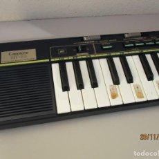 Instrumentos musicales: CASIOTONE MT36 PROBADO CON UN TRAFO Y FUNCIONA TODO FALTA TAPA PILAS VER FOTOS. Lote 184442153