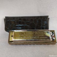 Instrumentos musicales: HARMONICA HOHNER. THE CHROMONICA. Lote 184609703