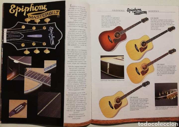 Instrumentos musicales: EPIPHONE Catálogo Guitarras 2004 - Foto 3 - 184641455