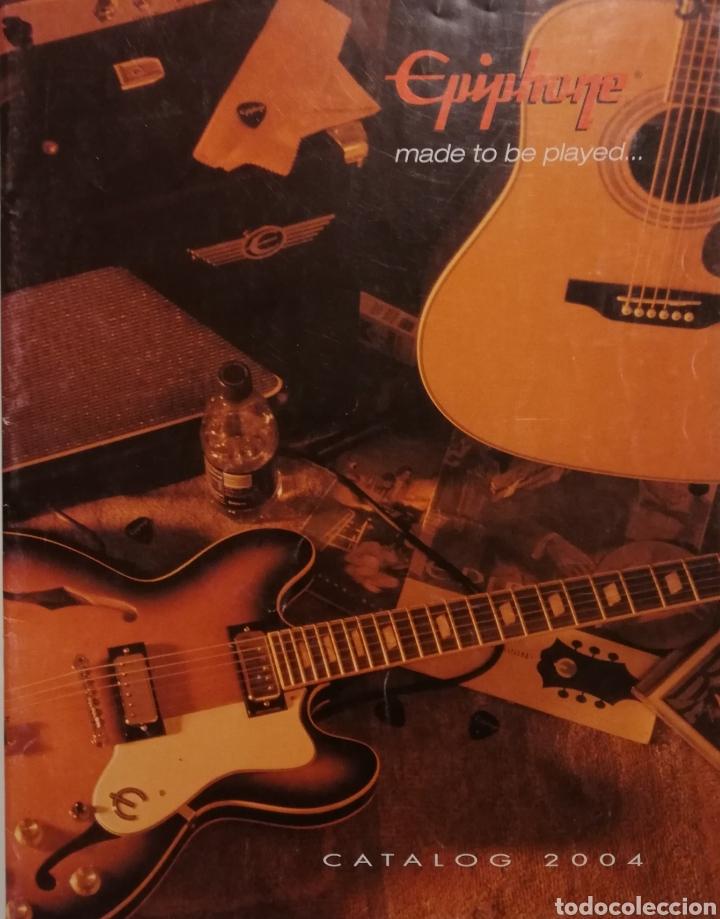 EPIPHONE CATÁLOGO GUITARRAS 2004 (Música - Instrumentos Musicales - Guitarras Antiguas)