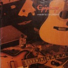 Instrumentos musicales: EPIPHONE CATÁLOGO GUITARRAS 2004. Lote 184641455
