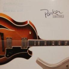 Instrumentos musicales: PARKER CATÁLOGO DE GUITARRAS 2007. Lote 184641990