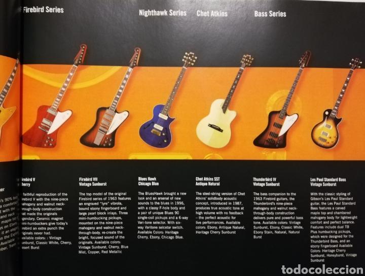 Instrumentos musicales: GIBSON Catálogo de Guitarras 2004 - Foto 2 - 184642478