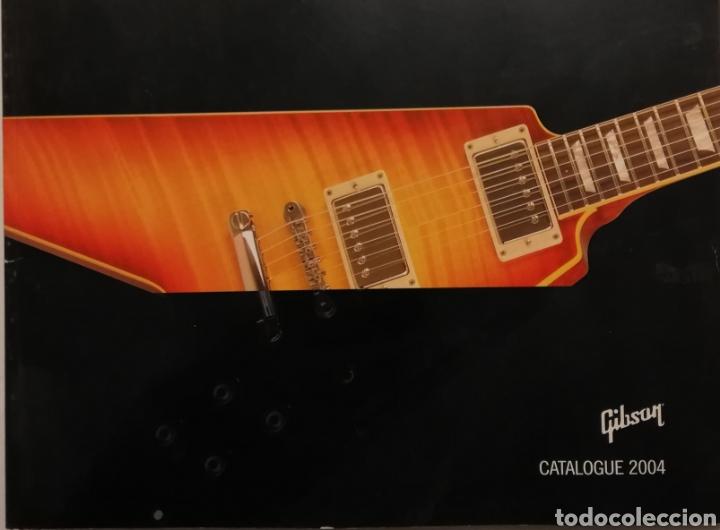 GIBSON CATÁLOGO DE GUITARRAS 2004 (Música - Instrumentos Musicales - Guitarras Antiguas)