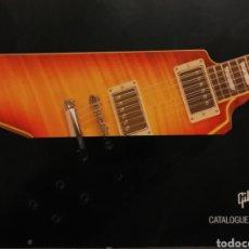 Instrumentos musicales: GIBSON CATÁLOGO DE GUITARRAS 2004. Lote 184642478