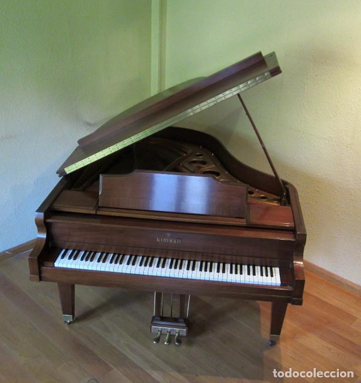 PIANO KIMBALL COLA BABY GRAND (Música - Instrumentos Musicales - Pianos Antiguos)