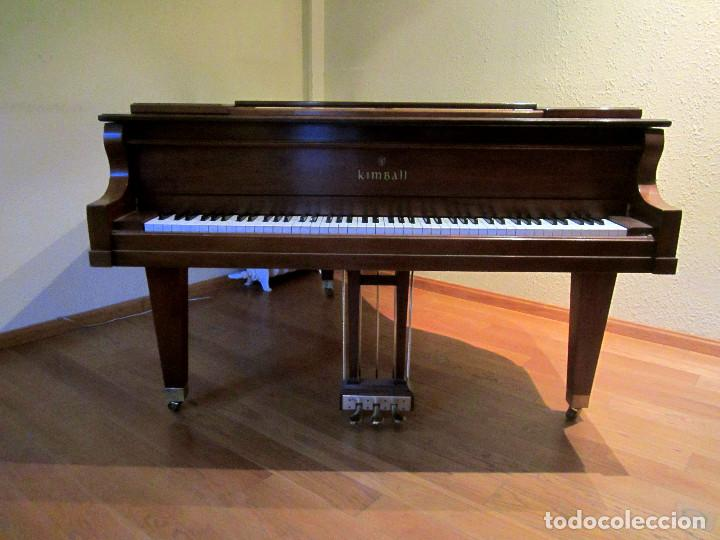 Instrumentos musicales: Piano Kimball Cola Baby Grand - Foto 3 - 184841080