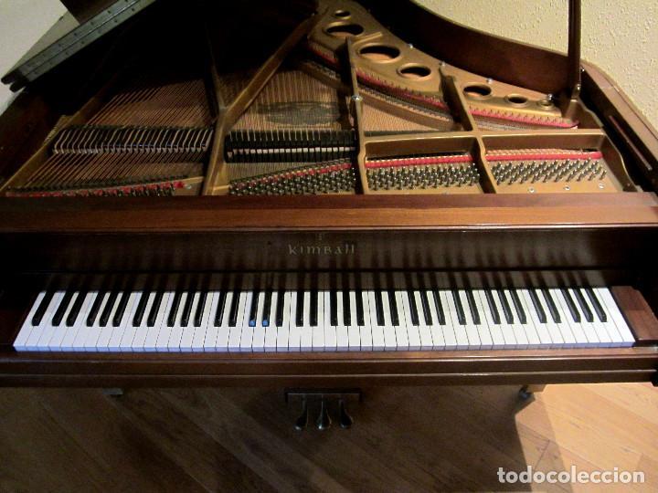 Instrumentos musicales: Piano Kimball Cola Baby Grand - Foto 5 - 184841080