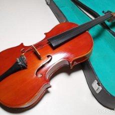 Instrumentos musicales: ANTIGUO VIOLIN CREMONA FECHADO 1924. Lote 185714503