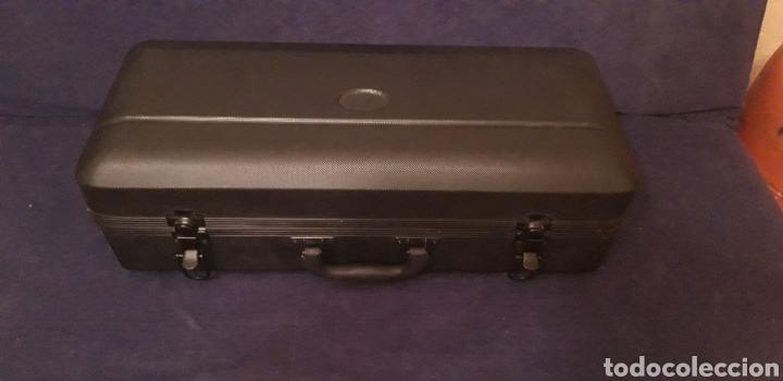 Instrumentos musicales: Trompeta antigua - Foto 2 - 186243342
