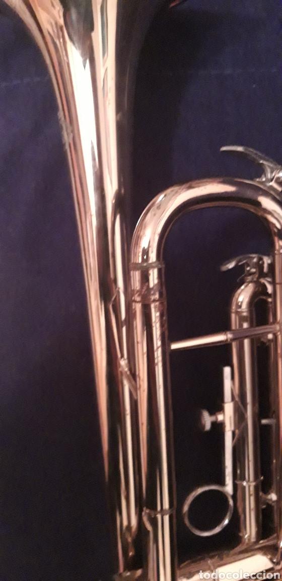 Instrumentos musicales: Trompeta antigua - Foto 5 - 186243342