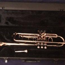 Instrumentos musicales: TROMPETA ANTIGUA. Lote 186243342