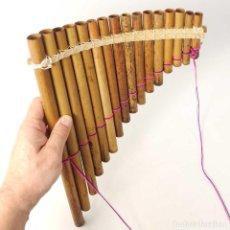 Instrumentos musicales: FLAUTA DE PAN BOLIVIANA 16 NOTAS. Lote 187215595