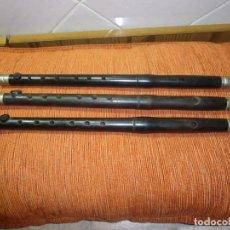 Instrumentos musicales: LOTE DE TRES PÍFANOS.. Lote 187306707