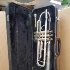 Instrumentos musicales: TROMPETA BESSON 600 EN ESTUCHE RIGIDO. Lote 187311000
