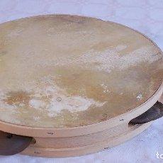 Instrumentos musicales: PANDERETA MARROQUÍ DE PARCHE DE PIEL.. Lote 187327473