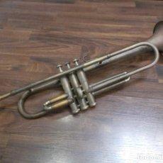 Instrumentos musicales: ANTIGUA TROMPETA DE LA CASA ARAQUE BARCELONA - SPAIN (G). Lote 187378195