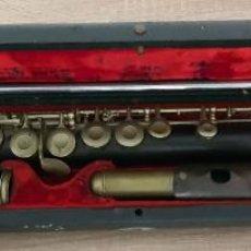 Instrumentos musicales: FLAUTA TRAVESERA MARCA MAX WELLER & CO SIEBENBRUNN VGTL . Lote 187486557