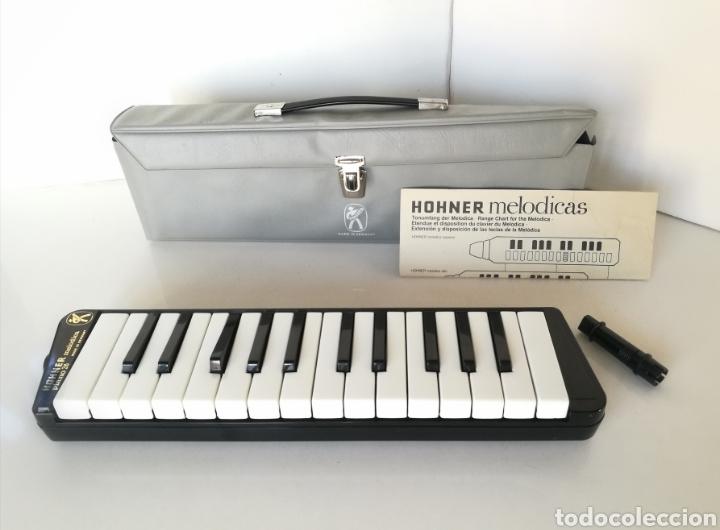 MELODICA HOHNER PIANO 26 GERMANY AÑOS 70 // INSTRUMENTO MUSICAL VINTAGE (Música - Instrumentos Musicales - Pianos Antiguos)