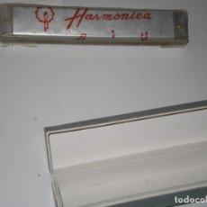 Instrumentos musicales: HARMONICA METÁLICA DE LUJO SIN ESTRENAR EN CAJA , BLESSING-DHD 201 . 1ª IMPORTACIONES CHINA AÑ0S 60. Lote 187535710