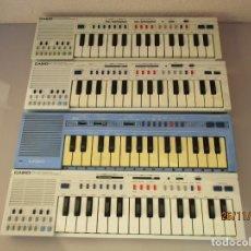 Instrumentos musicales: CASIO UN PT1 Y TRES PT20 PARA DESGUACE NO FUNCIONAN. Lote 187563232