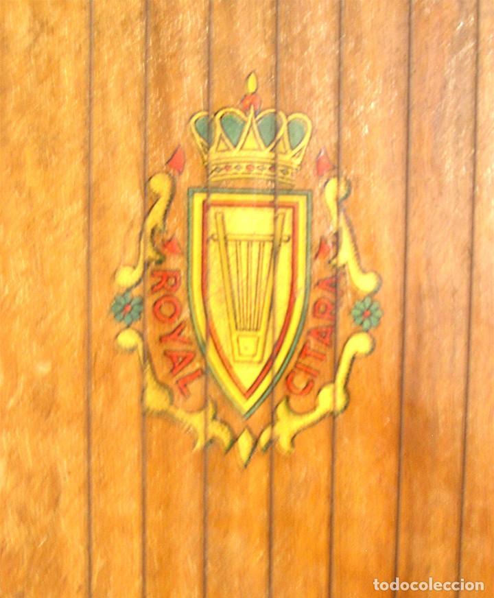 Instrumentos musicales: Citarra Royal Cromatica Luthier CIS de Barcelona. Med. 44 x 26 x 5 cm - Foto 3 - 236965620