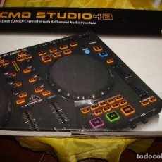 Instrumentos musicales: DJ CONTROLLER CMD STUDIO 4A. 4 DECK DJ MIDI CONTROLLER 4 CHANNEL AUDIO INTERFACE. Lote 189284626