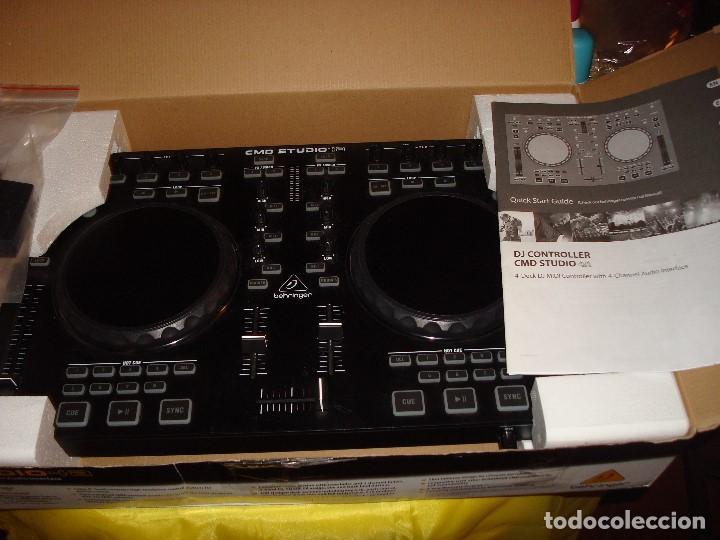 Instrumentos musicales: DJ CONTROLLER CMD STUDIO 4A. 4 DECK DJ MIDI CONTROLLER 4 CHANNEL AUDIO INTERFACE - Foto 2 - 189284626