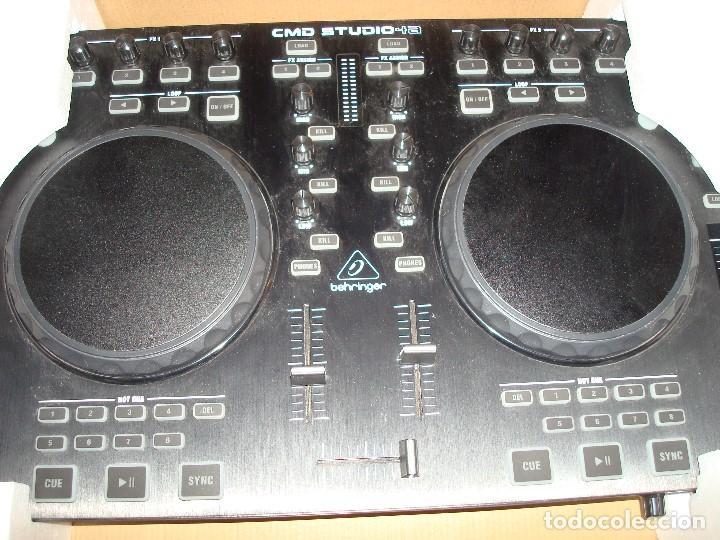 Instrumentos musicales: DJ CONTROLLER CMD STUDIO 4A. 4 DECK DJ MIDI CONTROLLER 4 CHANNEL AUDIO INTERFACE - Foto 3 - 189284626