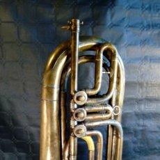 Instrumentos musicales: TROMPETA CARL AUGUST SCHUSTER.MARKNEUKIRCHEN. MANUFACTURA DE 1830 – 1864. ALEMANIA.. Lote 189402333