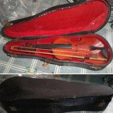 Instrumentos musicales: MINI VIOLIN EN SU ESTUCHE EL VIOLIN MIDE 24/8/5 CM. EL ESTUCHE TIENE UN BOLLO DE UN GOLPE. Lote 189403902