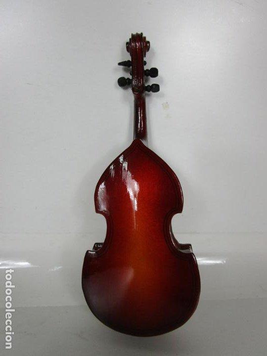 Instrumentos musicales: Violonchelo Miniatura - Instrumento de Cuerda - Madera - con Estuche - Violonchelo - 16 cm Altura - Foto 10 - 189605253