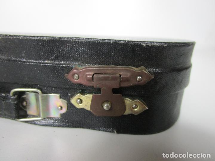 Instrumentos musicales: Guitarra Eléctrica Bajo, Miniatura - Madera - con Estuche - Guitarra Bajo 16 Altura - Foto 14 - 189605803