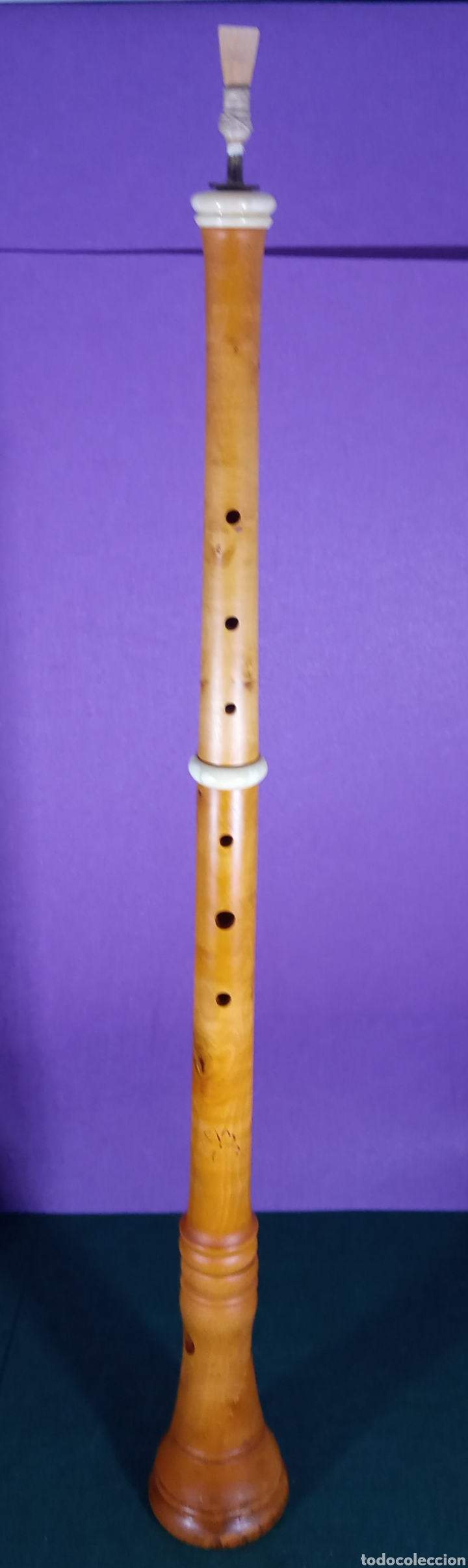 Instrumentos musicales: Tarota. Madera de boj. - Foto 5 - 189616875