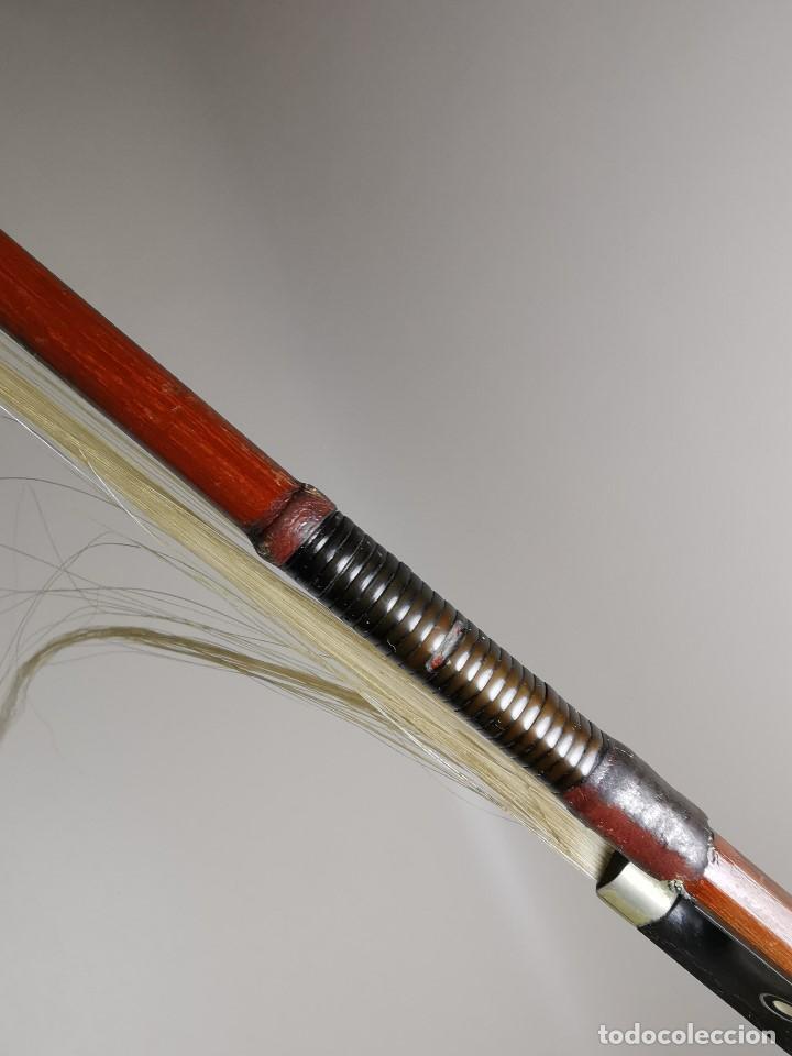 Instrumentos musicales: ANTIGUO ARCO VIOLIN - 74 CM - Foto 16 - 189725353