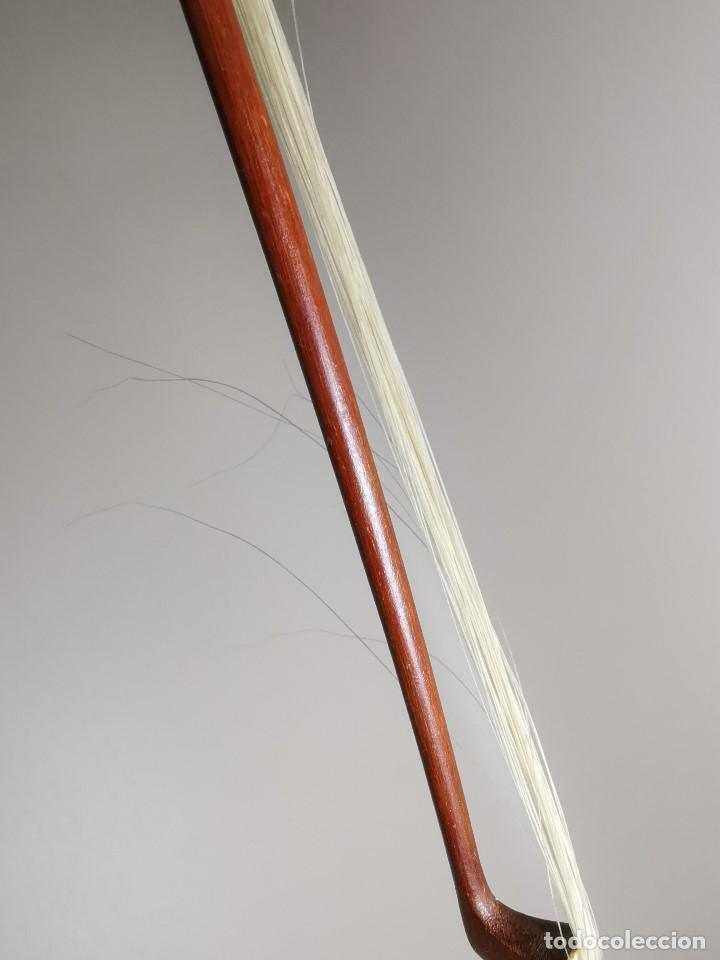 Instrumentos musicales: ANTIGUO ARCO VIOLIN - 74 CM - Foto 23 - 189725353