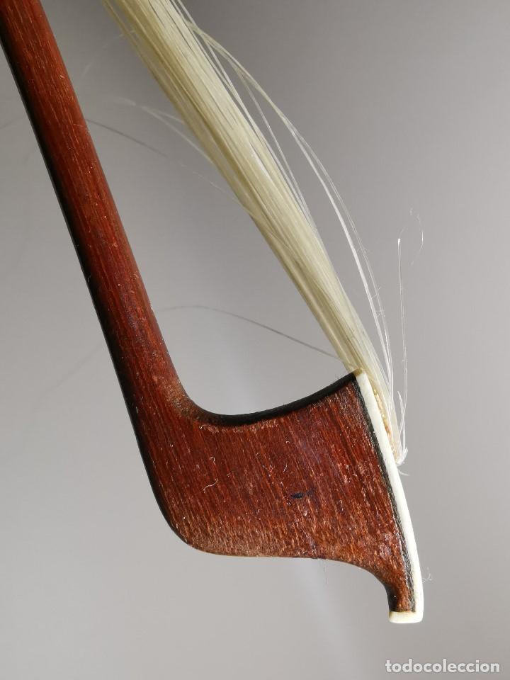 Instrumentos musicales: ANTIGUO ARCO VIOLIN - 74 CM - Foto 26 - 189725353