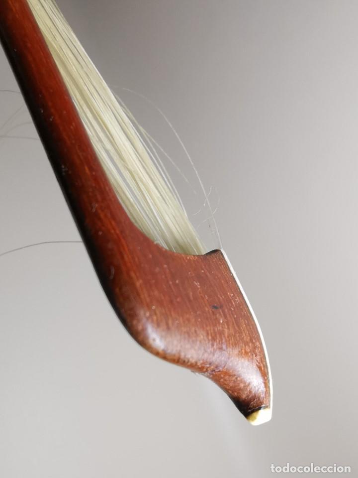 Instrumentos musicales: ANTIGUO ARCO VIOLIN - 74 CM - Foto 27 - 189725353