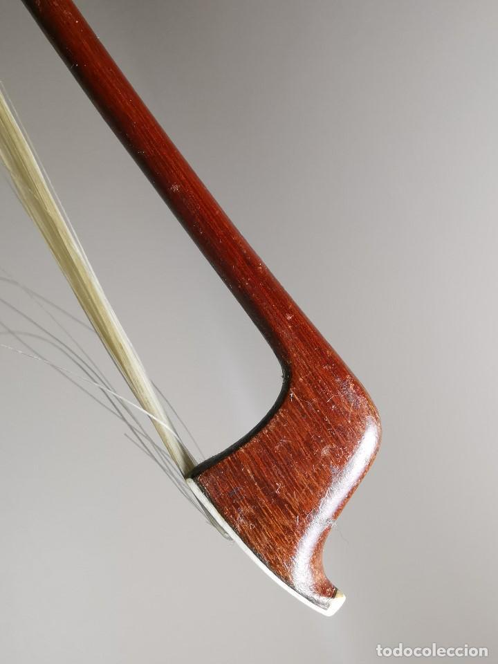 Instrumentos musicales: ANTIGUO ARCO VIOLIN - 74 CM - Foto 28 - 189725353