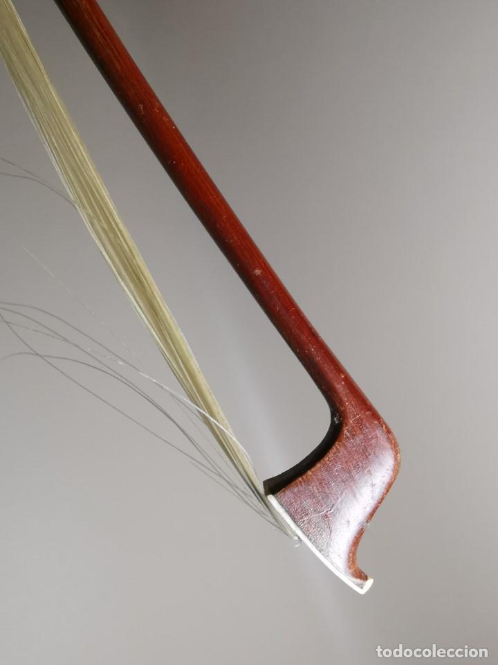 Instrumentos musicales: ANTIGUO ARCO VIOLIN - 74 CM - Foto 29 - 189725353