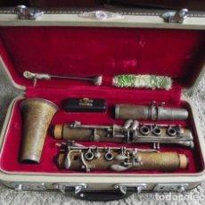Instrumentos musicales: CLARINETE VINTAGE DE LOS AÑOS 70. EMBLEMÁTICO INSTRUMENTO.. Lote 189839113