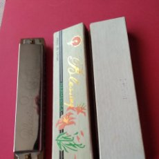Instrumentos musicales: ANTIGUA HARMONICA BLESSING MADE IN CHINA. Lote 189984641