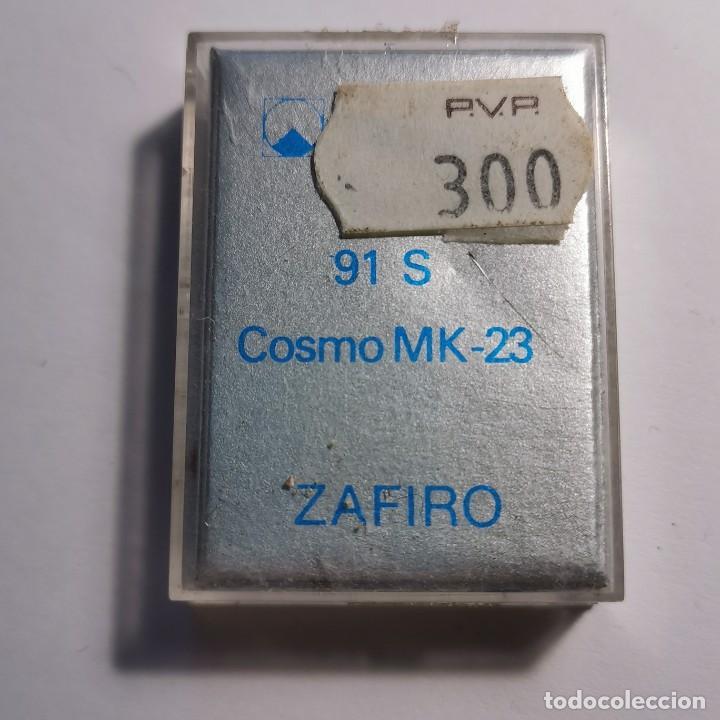 Instrumentos musicales: AGUJA TOCADISCOS ZAFIRO REULO 91 S COSMO MK-23 - NUEVA / TC-3-68 - Foto 2 - 190064651