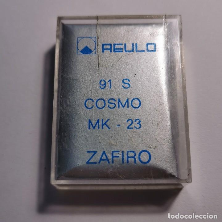 Instrumentos musicales: AGUJA TOCADISCOS ZAFIRO REULO 91 S COSMO MK-23 - NUEVA / TC-3-71 - Foto 2 - 190064738